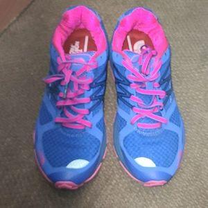 The North Face cardiac running shoe